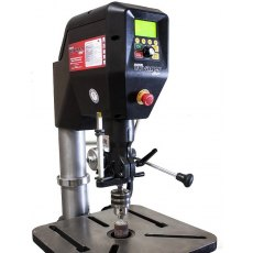 "NOVA DVR Voyager 18"" Pillar Drill Press Floor Standing (Incl Safety Guard)"