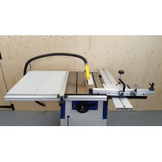 "Charnwood 8"" Cast Iron Table Saw with Extension Tables"