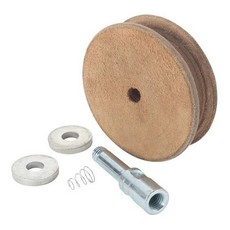 Record Power WG250N Profiled Leather Honing Wheel for WG250 10' Wet Stone Sharpening System