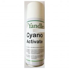 Yandles Cyano Activate Activator For Cyano Superglue 200ml Aerosol