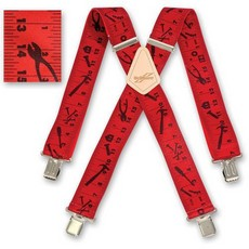 RED TAPE MEASURE BRACES