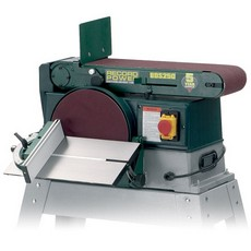 "Record Power BDS250 Belt(6"") & Disc(10"") Sander, 750W, 240V"
