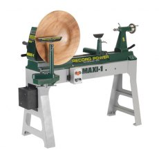Record Power Maxi 1 Heavy Duty Swivel Head Lathe 1.5hp 230V Maxi-1