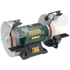 "New For 2018 Record Power RSBG8 - 8"" Bench Grinder"