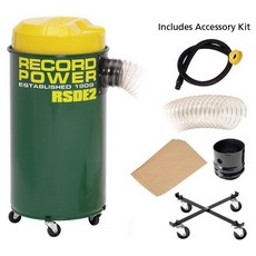 Record Power RSDE2 Dust Extractor 50L, 1000W c/w Accessory Pack