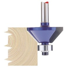 DRAPER 1/4' Chamferring 30mm x 45° TCT Router Bit