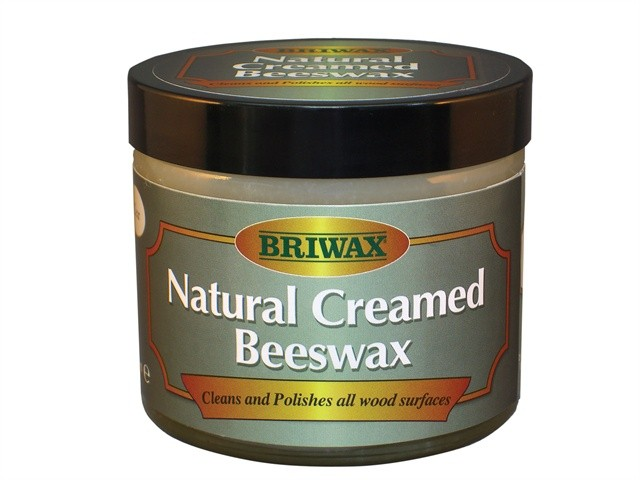 Briwax Briwax natural creamed beeswax clear 250ml