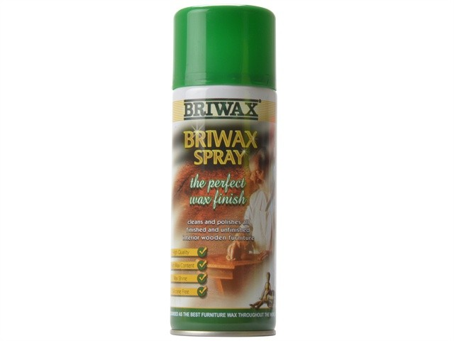 Briwax Briwax Spray Wax Aerosol 400ml