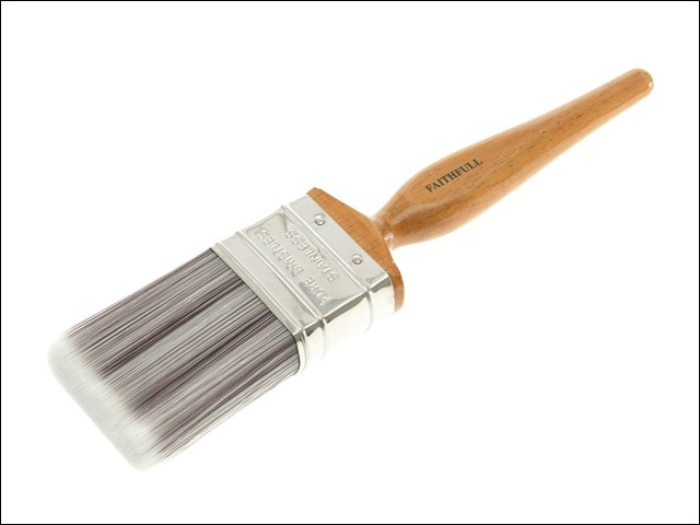 Faithful Faithfull Superflow Synthetic Paint Brush 2in