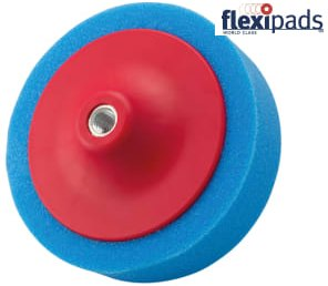 Flexipads 44105 BCH-14M Blue Comp Head 150 x 50 mm M14 x 2