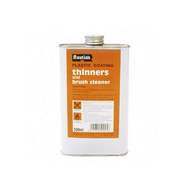 Rustins Rustins Plastic Coating Thinners 500 ml