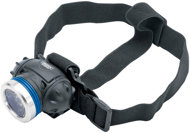 Draper DRAPER Cree 1 LED Head Lamp (3 x AAA Batteries)
