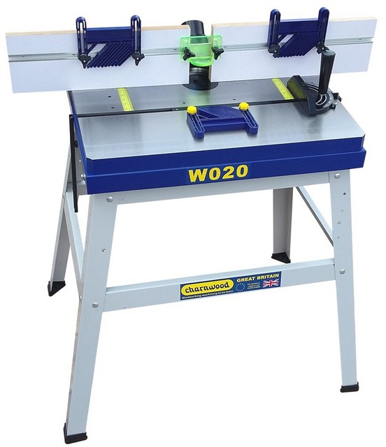 Charnwood Charnwood W020 Cast Iron Floorstanding Router Table
