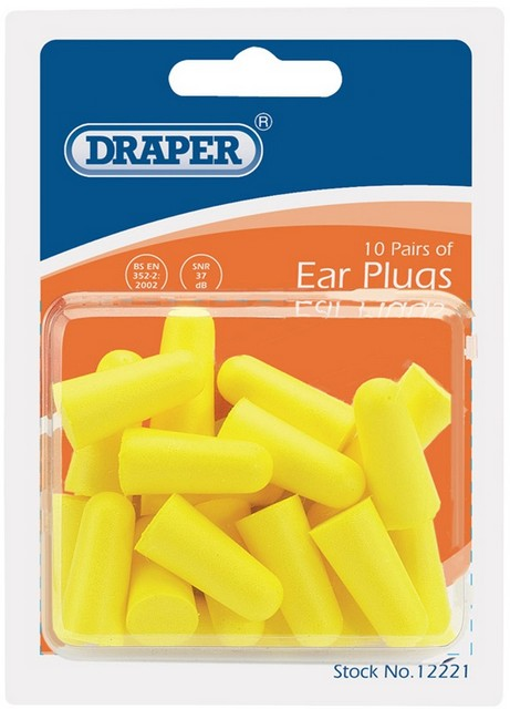 Draper Plastic Pocket Hole Plugs Black