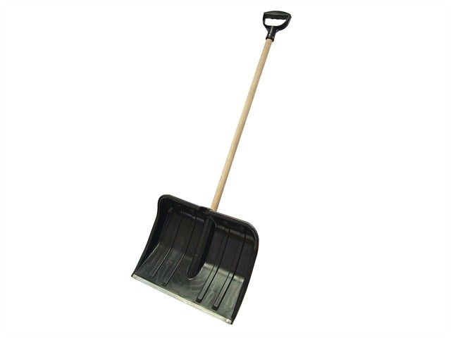 Faithful Heavy-Duty Plastic Snow Shovel Cw Handle