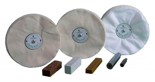 Chestnut Chestnut Buffing Wheels / Buffing Kit