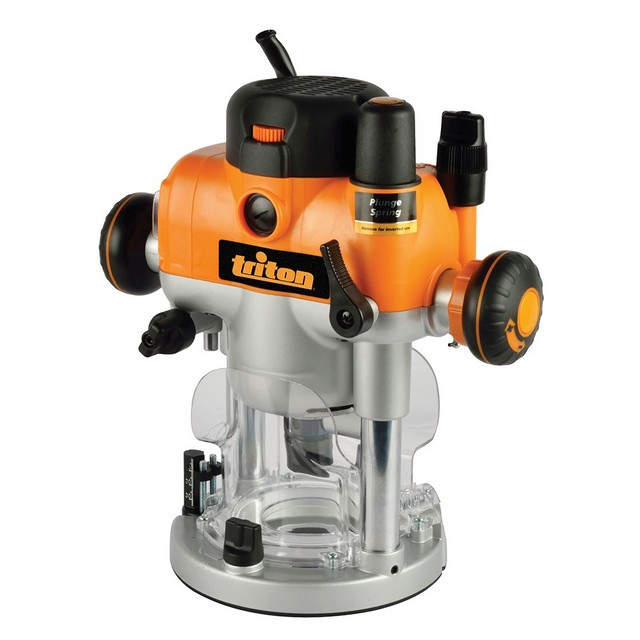 Triton Triton Dual Mode Precision Plunge Router TRA001 + FREE 6pce Router Set (worth £49.99!)
