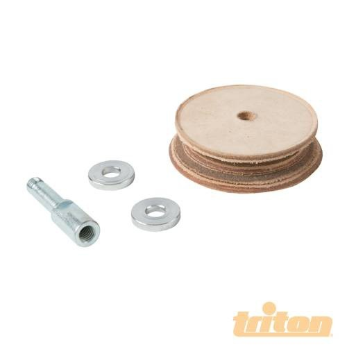 Triton Triton Leather Honing Wheel For TWSS10
