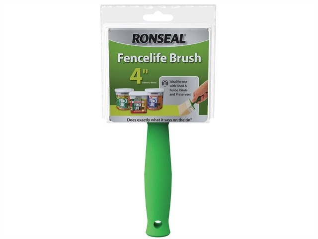 Ronseal Ronseal Fence Life Brush 100mm x 40mm