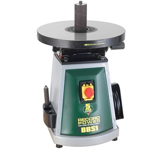 Record Power BBS1 Bench Top Bobbin Sander