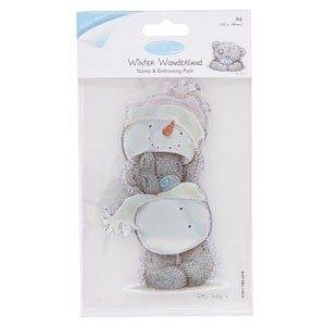 Me to You Winter Wonderland Clear Stamp and Embossing Set
