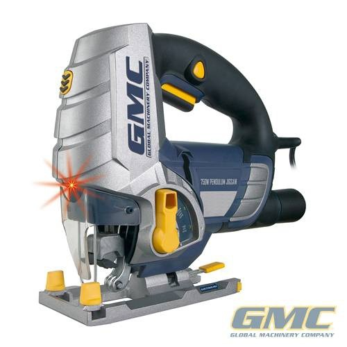 GMC GMC TOOLS 750W Pendulum Action Jigsaw with Laser Guide