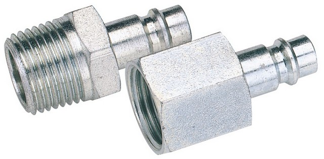 Draper DRAPER 1/4' BSP Male Nut PCL Euro Coupling Adaptor (Sold Loose)
