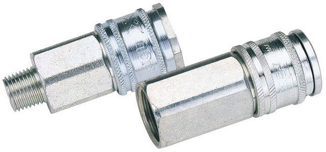 Draper DRAPER Euro Coupling Female Thread 1/4' BSP Parallel (Sold Loose)