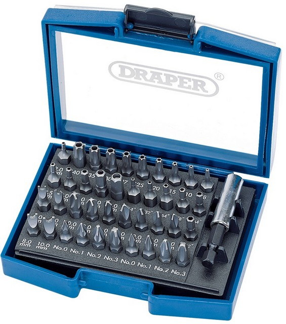 Draper DRAPER 41 Piece Security Bit Set