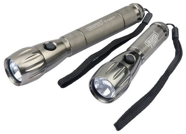 Draper DRAPER Twin Pack of LED Torches