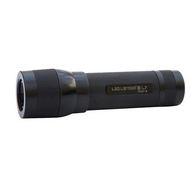 L7 Light Polycarbonate 100 Lumens Torch With Batteries