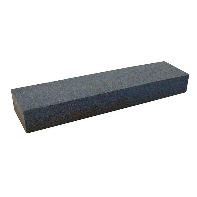 Silverline Aluminium Oxide Combination Sharpening Stone                           200 x 50 x 25mm