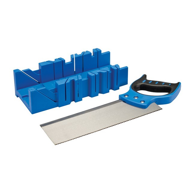 Silverline Mitre Box & Saw                                                        300 x 90mm
