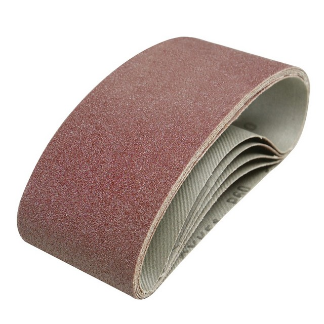 Silverline Sanding Belts 75 x 457mm 5pk                                           60 Grit
