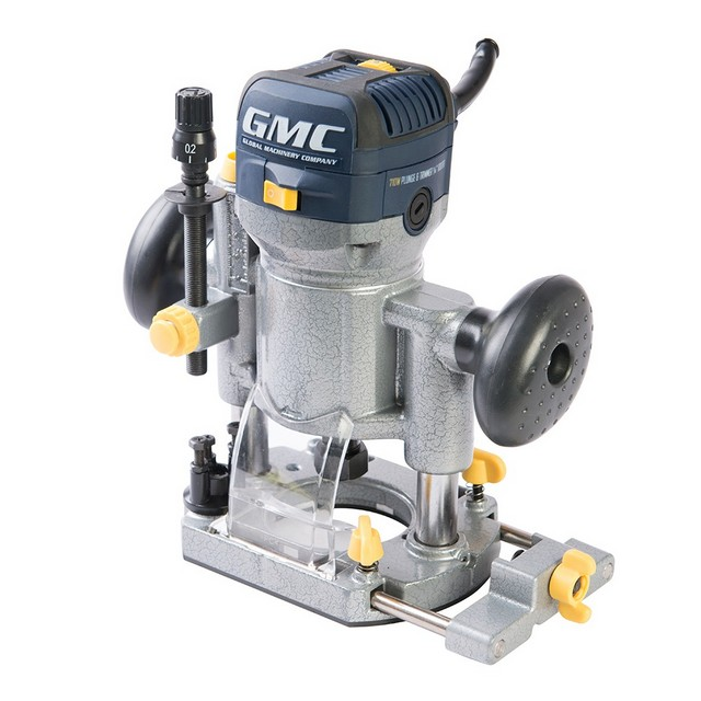 "GMC GMC TOOLS 710W Plunge & Trimmer Router 1/4"" GR70"