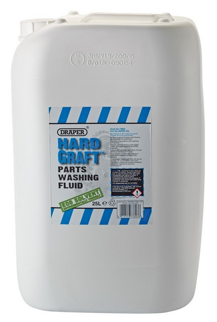 Draper DRAPER 25L Draper 'Hard Graft' Parts Washing Fluid