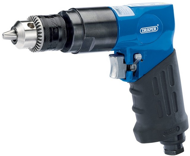 Draper DRAPER Reversible Air Drill with 10mm Geared Chuck