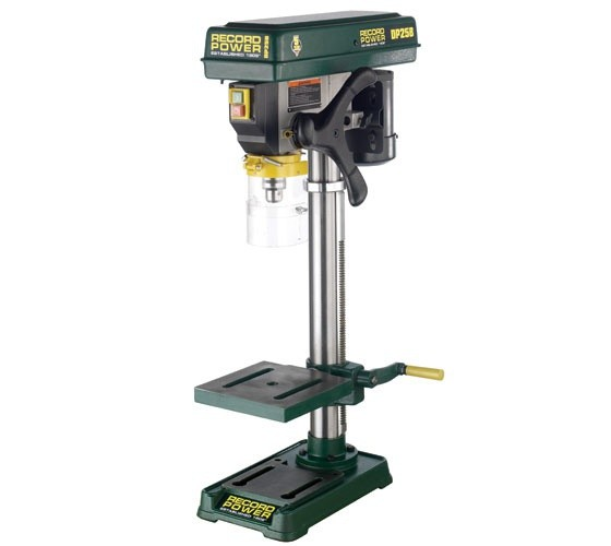 Record Power DP25B Bench Drill with 22' Column and 1/2' Chuck