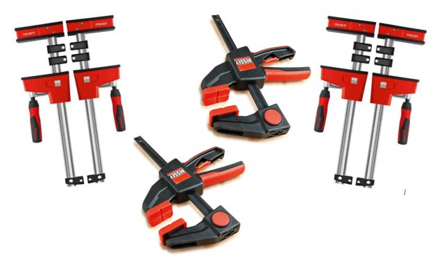 Bessey Bessey KRE Quad Pack Package Deal Body Clamps 4pk C/W 2x KLI20 FREE