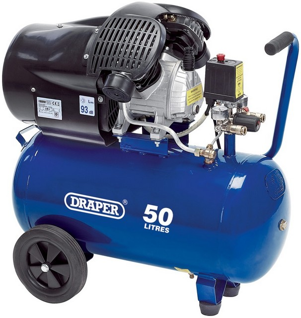 Draper DRAPER 50L 230V 2.2kW (3hp)  Air Compressor