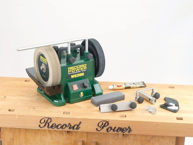 Record Power Record Power WG200-PK/A Wet Stone Sharpening System Package Deal