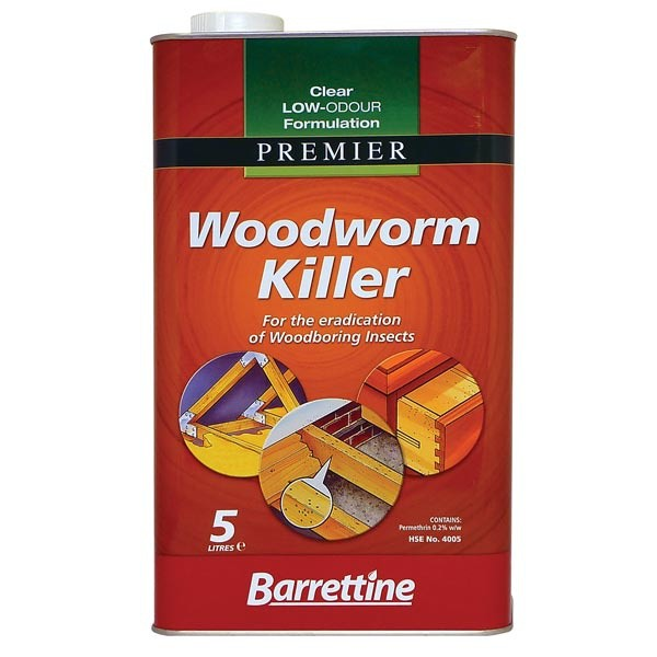 Barrettine Barrettine Nourish & Protect Woodworm Killer (Low Odour)