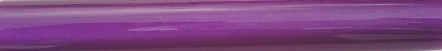 Charnwood 19mm Round Acrylic Pen Blank, Deep Purple with Pearl