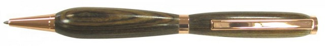 Charnwood 7mm Slimline Twist Pen, Copper