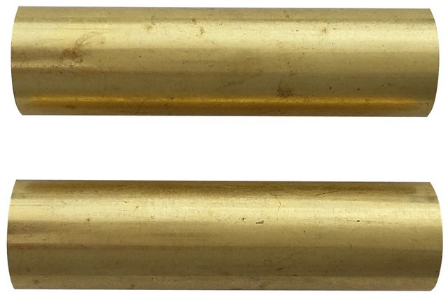 Charnwood Replacement Brass Tubes for Mini Bolt Action Pens, Pack of 2