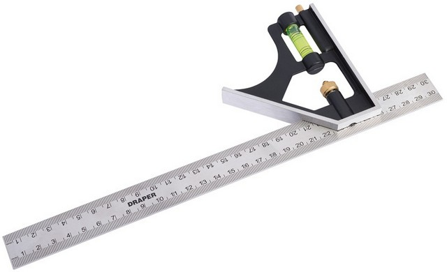 Draper DRAPER 300mm Metric and Imperial Combination Square