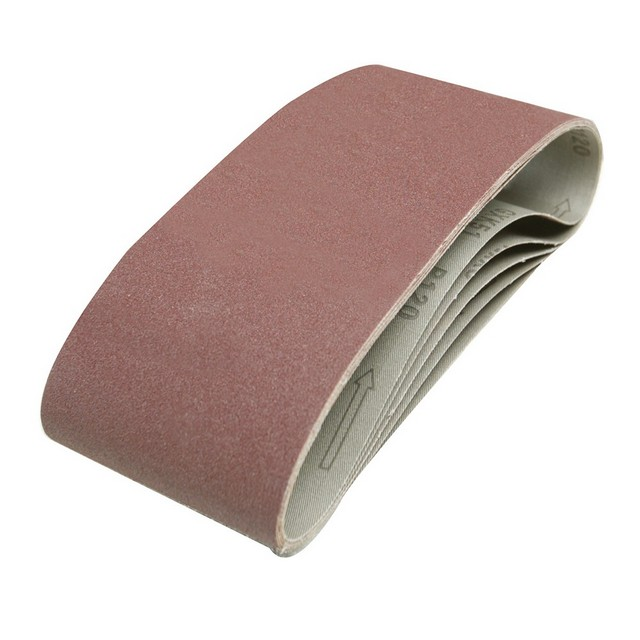Silverline Sanding Belts 100 x 610mm 5pk 120 Grit