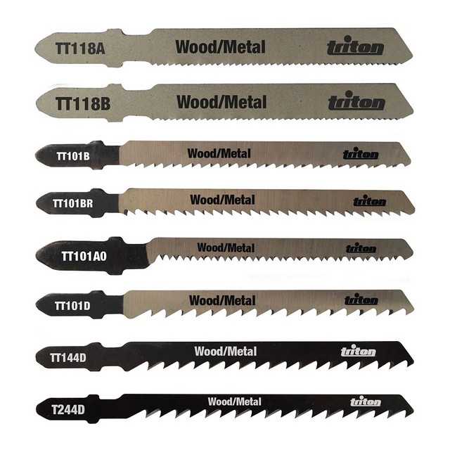 Triton Jigsaw Blade Set 10pce Wood / Metal