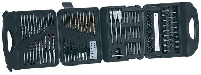 Draper DRAPER Drill and Accessory Kit (122 Piece)