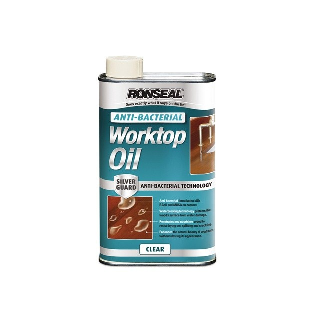 Ronseal Ronseal RSLABWO500 anti-bacterial Worktop Oil 500ml